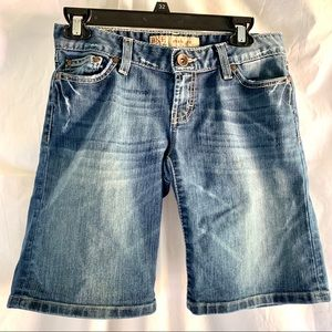 BKE Starlight denim jean shorts Size 27